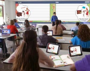 Agenda escolar con programa bilingue