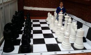 Fabricantes de ajedrez gigante para exteriores