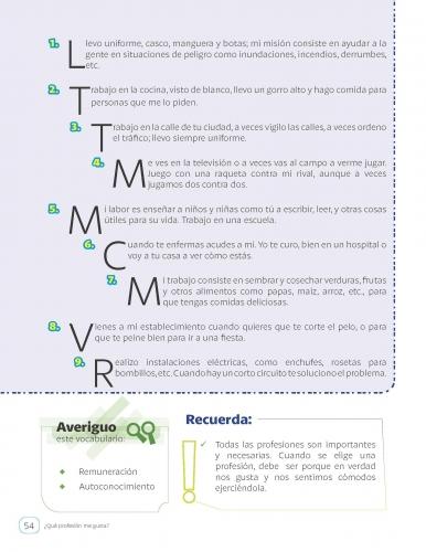 Comprensión lectora con actividades en áreas transversales