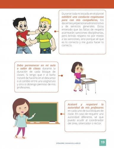 Civica urbanidad y convivencia con actividades para trabajar en clase