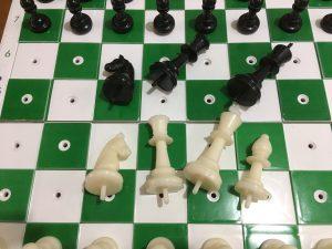 Tablero de ajedrez para invidentes, ajedrez para ciegos