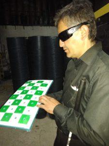 ajedrez para ciegos